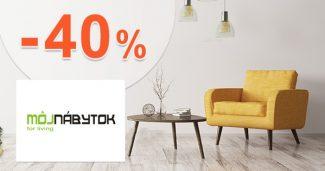 Sektorový nábytok v akcii až -40% na MojNabytok.sk