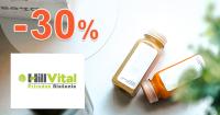 Vitamíny až -30% zľavy a akcie na Hillvital.eu
