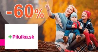 Zľavy až -60% na prírodné produkty na Pilulka.sk