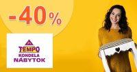 Všetko pre záhradu až -40% na TempoNabytok.sk