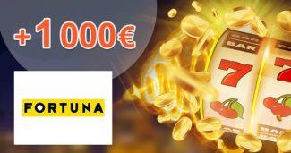 Hrajte v casine s bonusom až 1000€ na iFortuna.sk