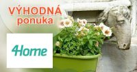 Vybavenie do záhrady vo výpredaji na 4Home.sk