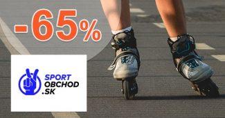 Výpredaj in-line korčúľ až -65% na SportObchod.sk