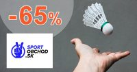 Výpredaj na bedminton až do -65% na SportObchod