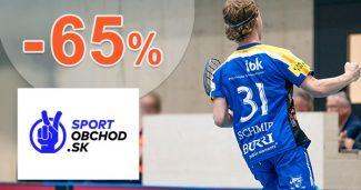 Výpredaj na florbal až do -65% na SportObchod.sk