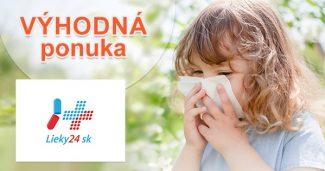 Výpredaj na vybraný sortiment na Lieky24.sk