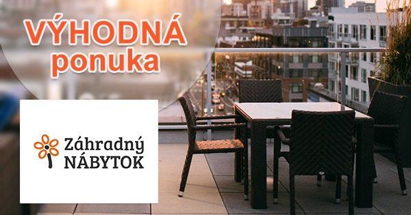 Nábytok v akcii so zľavou na i-ZahradnyNabytok.sk