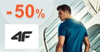 Výpredaj pre mužov až -50% zľavy na 4Fstore.sk
