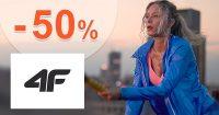 Výpredaj pre ženy až do -50% zľavy na 4Fstore.sk