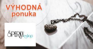 Zľavy a akcie na šperky na Sperky-eshop.sk