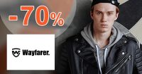 Výpredaj so zľavami až do -70% na Wayfarer.sk