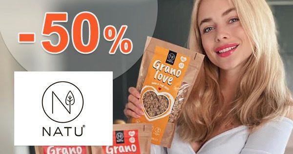 Výpredaj so zľavami až do výšky -50% na NATU.cz