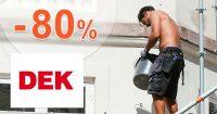 Výpredaj so zľavami až do výšky -80% na DEK.sk