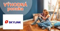 Až 30 dní zdarma 1 účet a 4 prístupy na Skylink.sk