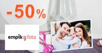 Zľavy až do -50% na fotodarčeky na EmpikFoto.sk
