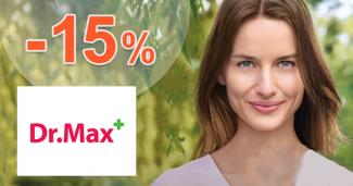 Zľava -15% na sortiment Green Swan na DrMax.sk