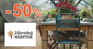 Dopredaj až -50% zľavy na i-ZahradnyNabytok.sk