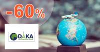 Zájazy až -60% na CestovnaKancelariaDAKA.sk