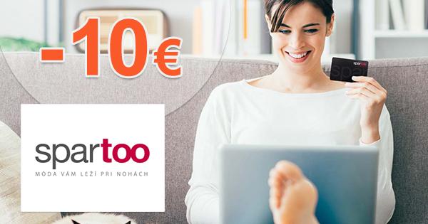 Zľava -10€ ako darček na Spartoo.sk