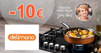 Zľava -10€ na prvý nákup na Delimano.sk