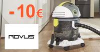 Zľava -10€ na prvý nákup na ROVUS.sk