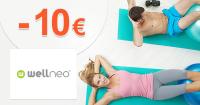 Zľava -10€ na všetko na prvý nákup na Wellneo.sk