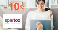 Zľava -10% a splátky bez poplatku na Spartoo.sk