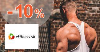 Zľava -10% k nákupu paddleboardov na eFitness.sk