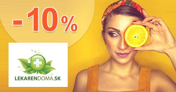 Zľava -10% na Multivitamin 120 na LekarenDoma.sk