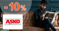 Zľava -10% na asko-nabytok.sk