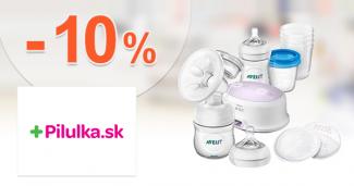 Zľava -10% na odsávačku Avent na Pilulka.sk