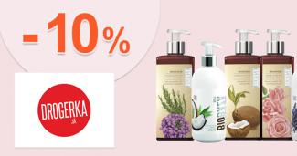 Zľava -10% na produkty Biobaza na Drogerka.sk