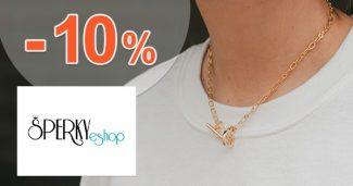 Zľava -10% na prvý nákup na Šperky-eshop.sk