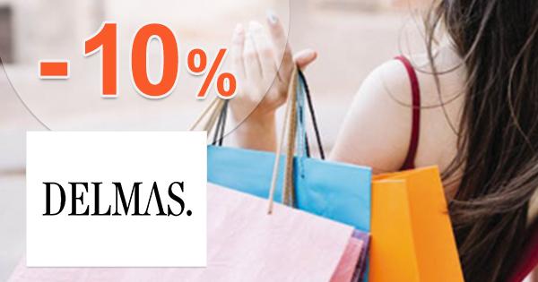 Zľava -10% na prvý nákup na Delmas.sk