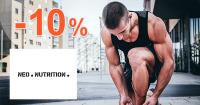 Zľava -10% na prvý nákup na NeoNutrition.sk
