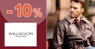 Zľava -10% na prvý nákup na Willsoor.sk