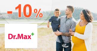 Zľava -10% na sortiment Stoptussin na DrMax.sk