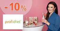 Zľava -10% na všetko k nákupu na ProfiDiet.net