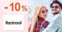 Zľava -10% na všetko na prvý nákup na FactCool.sk