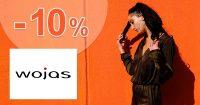 Zľava -10% na všetko na prvý nákup na Wojas.sk