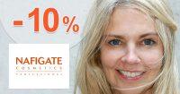 Zľava -10% na všetko na prvý na NafigateCosmetics