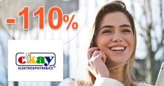 Zľava -110% z rozdielu ceny na Okay.sk