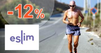Zľava -12% k nákupu 3 balení eSlim na eSlim.sk