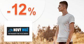 Zľava -12% na najpredávanejší tovar na NovyMuz.sk