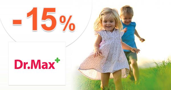 Zľava -15% na Jamieson pre deti na DrMax.sk