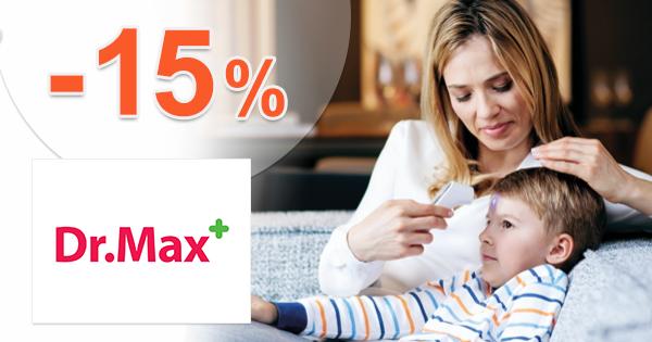 Zľava -15% na bezkontaktné teplomery na DrMax.sk