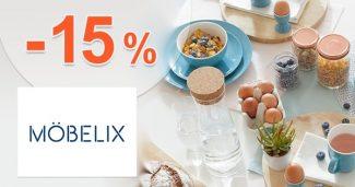 Zľava -15% na doplnky do kuchyne na Mobelix.sk