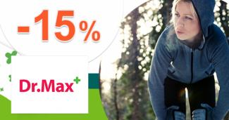Zľava -15% na prístroje Sodastream na DrMax.sk