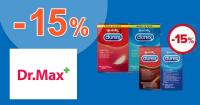 Zľava -15% na produkty Durex na DrMax.sk