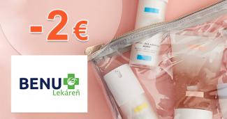 Zľava -2€ na produkty CeraVe na BenuLekaren.sk